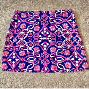 Navy and Pink Vineyard Vines Skirt Size 14